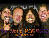 My World Morphed by Rodney Pike