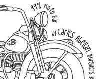 99% Moto Bar by Carles Abellan
