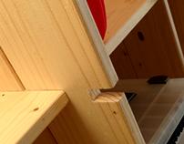 TORII - Screwless wood furniture
