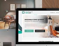 DesarrollosOrfe.com. Web Design. Landing page