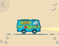 SCooby-Doo Van