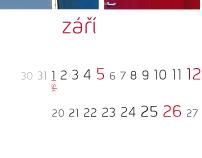 University of Pardubice - calendar