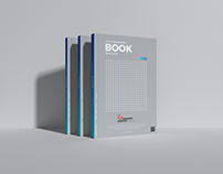 Free Title Branding Book Mockup PSD