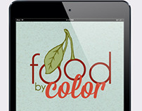 Food by Color : Children's App