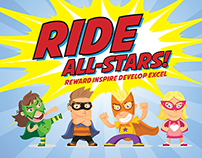 Ride All-Stars Campaign Design - Raine & Horne