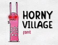 Horny Village Font