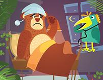 Hasta el oso con reposo