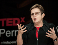 TEDx event branding
