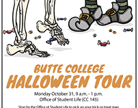 Butte College Halloween Walk