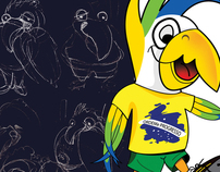 World Cup Brasil 2014 Concept (Tickets & Mascotte)