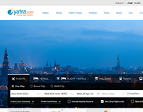 Yatra.com | New website | New Design | New Experience