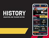 History app: Adobe Creative Jam