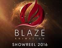 Blaze Animation Studio - Showreel 2016