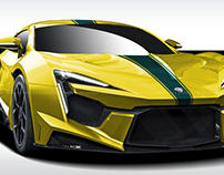 W Motors Fenyr SuperSport 4our Elements