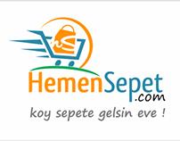 HemenSepet Logo Çalışması