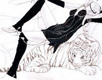 50's La Dolce Vita - Fashion Design & Illustration
