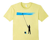 Paint It Blue T-Shirt