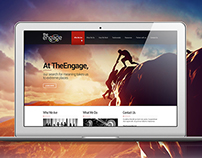 The Engage - Corporate Homepage Design