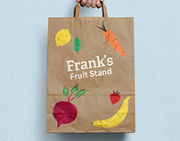 Illustration :: Frank's Fruit Stand