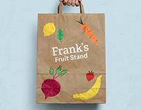 Illustration :: Frank's Fruit Stand