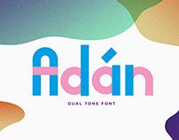 Adán free font
