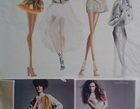 Fashion Illustrations .
