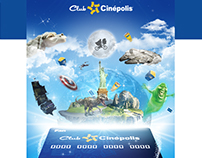 Welcome Mailing Club Cinépolis®