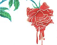 Bloody flower