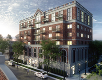 Mid-Rise Architectural Rendering