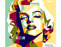 Marilyn Monroe in WPAP