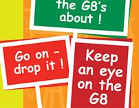 G8 campaign, 2001