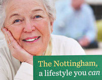 The Nottingham | direct mail + collateral