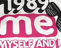 "Visual for T-shirt ""Me Myself And I"""