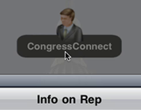 CongressConnect (Augmented Reality), iPhone Application
