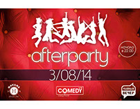Invitation to the Afterparty Comedy Club Sochi 2014