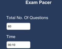 Exam Pacer, iPhne Applcation
