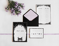 Mark & Jane | Wedding Invitation Set