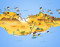 Socotra Illustrated Map