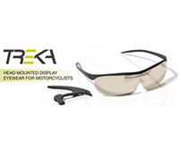 Head Mounted Display Eyewear for Motorcyclists