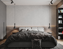 Grey tone. 1 bed flat
