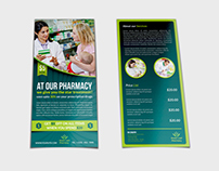 Pharmacy Flyer DL Size Template