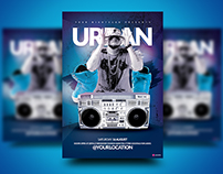 Urban Nights Flyer