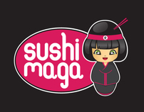 Sushi Maga Logo