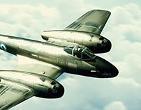 Gloster Meteor, Fuerza Aérea Argentina.