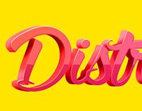 """Logo - Blog """"Distrações em Conserva"""""""