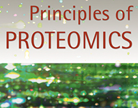 Principles of Proteomics book cover design