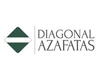 Brand identity Diagonal Azafatas