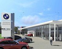 """Budynek salonu samochodowego BMW-MINI """"Katowice"""""""