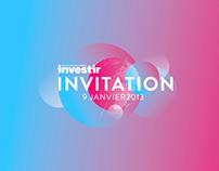 Invitation Investir