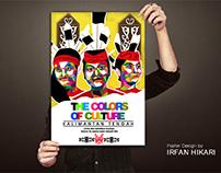 The Colors Of Culture Kalimantan Tengan Poster Design